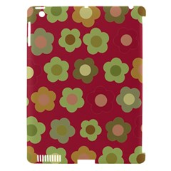 Floral Pattern Apple Ipad 3/4 Hardshell Case (compatible With Smart Cover) by Valentinaart