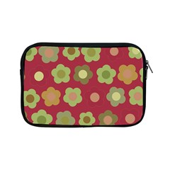 Floral Pattern Apple Ipad Mini Zipper Cases by Valentinaart