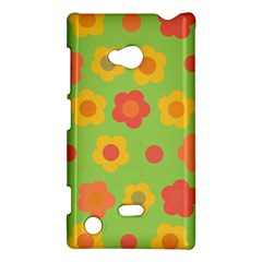 Floral Pattern Nokia Lumia 720 by Valentinaart