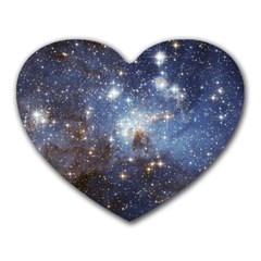 Large Magellanic Cloud Heart Mousepads by SpaceShop