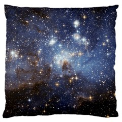 Large Magellanic Cloud Large Cushion Case (two Sides) by SpaceShop