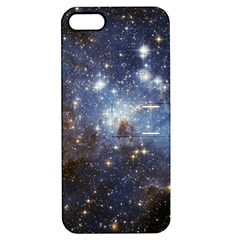 Large Magellanic Cloud Apple Iphone 5 Hardshell Case With Stand by SpaceShop