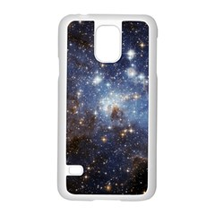 Large Magellanic Cloud Samsung Galaxy S5 Case (white) by SpaceShop
