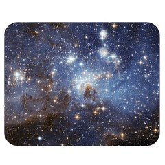 Large Magellanic Cloud Double Sided Flano Blanket (medium)  by SpaceShop