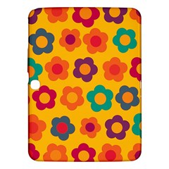 Floral Pattern Samsung Galaxy Tab 3 (10 1 ) P5200 Hardshell Case  by Valentinaart