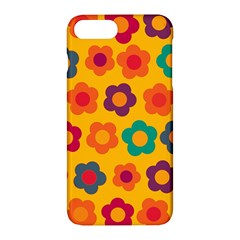 Floral Pattern Apple Iphone 7 Plus Hardshell Case by Valentinaart