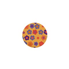 Floral Pattern 1  Mini Buttons by Valentinaart