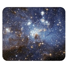Large Magellanic Cloud Double Sided Flano Blanket (small)  by SpaceShop