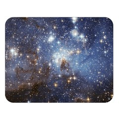 Large Magellanic Cloud Double Sided Flano Blanket (large)  by SpaceShop