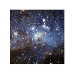 Large Magellanic Cloud Small Satin Scarf (square) by SpaceShop