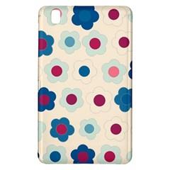 Floral Pattern Samsung Galaxy Tab Pro 8 4 Hardshell Case by Valentinaart