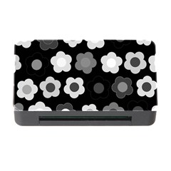 Floral Pattern Memory Card Reader With Cf by Valentinaart
