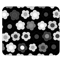 Floral Pattern Double Sided Flano Blanket (small)  by Valentinaart