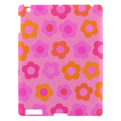 Pink Floral Pattern Apple Ipad 3/4 Hardshell Case by Valentinaart