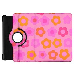 Pink Floral Pattern Kindle Fire Hd 7  by Valentinaart
