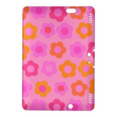 Pink Floral Pattern Kindle Fire Hdx 8 9  Hardshell Case by Valentinaart