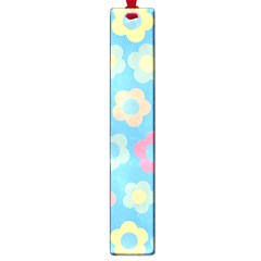 Floral Pattern Large Book Marks by Valentinaart