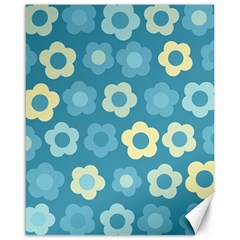 Floral Pattern Canvas 16  X 20   by Valentinaart