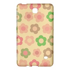 Floral Pattern Samsung Galaxy Tab 4 (8 ) Hardshell Case  by Valentinaart