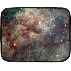 Tarantula Nebula Double Sided Fleece Blanket (mini)  by SpaceShop