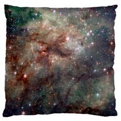 Tarantula Nebula Large Cushion Case (one Side) by SpaceShop