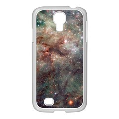 Tarantula Nebula Samsung Galaxy S4 I9500/ I9505 Case (white) by SpaceShop