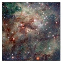Tarantula Nebula Large Satin Scarf (square) by SpaceShop