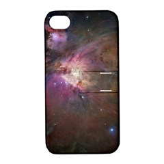 Orion Nebula Apple Iphone 4/4s Hardshell Case With Stand by SpaceShop