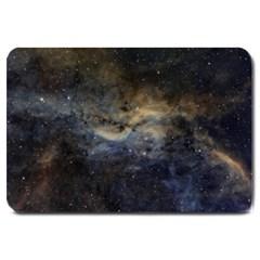 Propeller Nebula Large Doormat  by SpaceShop