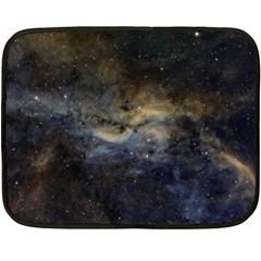 Propeller Nebula Double Sided Fleece Blanket (mini)  by SpaceShop