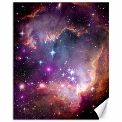 Small Magellanic Cloud Canvas 11  X 14   by SpaceShop