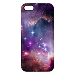 Small Magellanic Cloud Apple Iphone 5 Premium Hardshell Case by SpaceShop