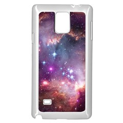 Small Magellanic Cloud Samsung Galaxy Note 4 Case (white) by SpaceShop