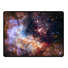 Celestial Fireworks Fleece Blanket (small) by SpaceShop
