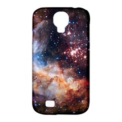 Celestial Fireworks Samsung Galaxy S4 Classic Hardshell Case (pc+silicone) by SpaceShop
