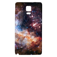 Celestial Fireworks Galaxy Note 4 Back Case by SpaceShop