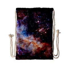 Celestial Fireworks Drawstring Bag (small) by SpaceShop
