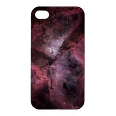 Carina Peach 4553 Apple Iphone 4/4s Premium Hardshell Case by SpaceShop