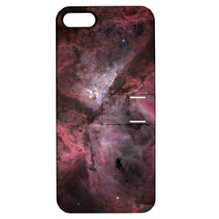 Carina Peach 4553 Apple Iphone 5 Hardshell Case With Stand by SpaceShop