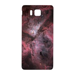 Carina Peach 4553 Samsung Galaxy Alpha Hardshell Back Case by SpaceShop