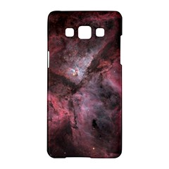 Carina Peach 4553 Samsung Galaxy A5 Hardshell Case  by SpaceShop