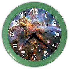 Pillar And Jets Color Wall Clocks by SpaceShop