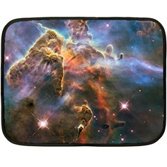 Pillar And Jets Double Sided Fleece Blanket (mini)  by SpaceShop