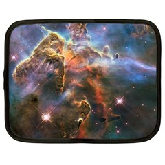Pillar And Jets Netbook Case (xl)  by SpaceShop