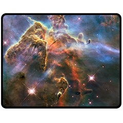Pillar And Jets Fleece Blanket (medium)  by SpaceShop