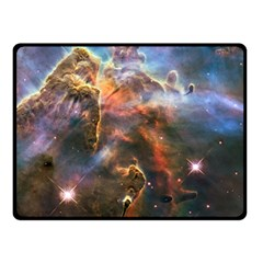 Pillar And Jets Fleece Blanket (small) by SpaceShop