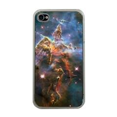 Pillar And Jets Apple Iphone 4 Case (clear) by SpaceShop