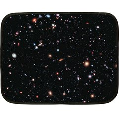 Extreme Deep Field Double Sided Fleece Blanket (mini)  by SpaceShop