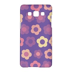 Floral Pattern Samsung Galaxy A5 Hardshell Case  by Valentinaart