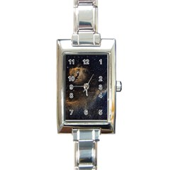 Seagull Nebula Rectangle Italian Charm Watch by SpaceShop